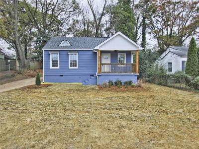 Atlanta Single Family Home For Sale: 485 Clifton Street SE
