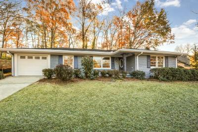 Atlanta Single Family Home For Sale: 1247 Vista Valley Drive NE