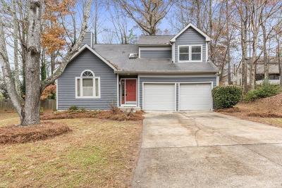 Acworth Single Family Home For Sale: 4550 Hickory Forest Drive NW