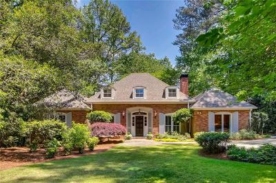 Atlanta Single Family Home For Sale: 4075 Northside Drive NW
