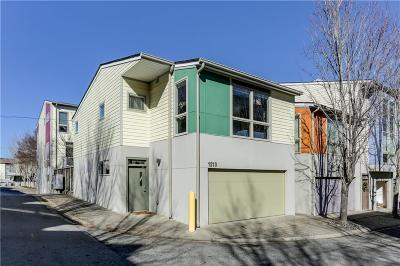 Condo/Townhouse For Sale: 1213 Van Allen Mews NW