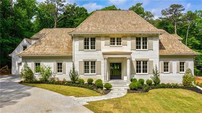 Atlanta Single Family Home For Sale: 3498 Paces Valley Road NW