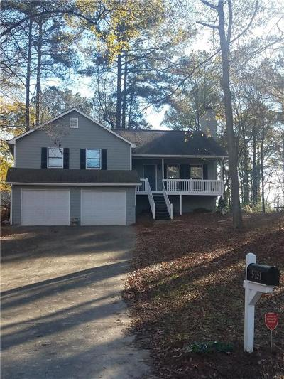 Acworth Single Family Home For Sale: 5757 Plantation Court