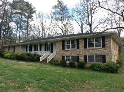 Single Family Home For Sale: 4308 Lake Laurel Drive SE