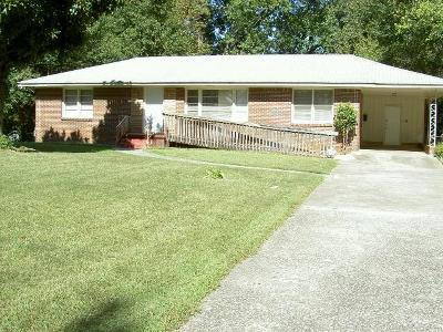 Atlanta Single Family Home For Sale: 2342 Ben Hill Road SW