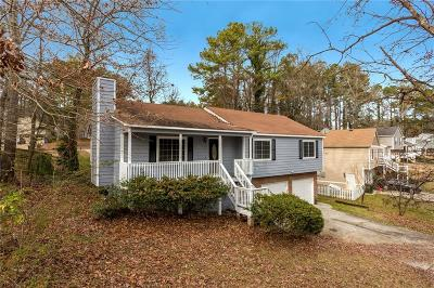 Kennesaw Single Family Home For Sale: 1070 Rackley Way NW