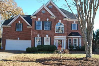 Roswell Single Family Home For Sale: 645 Bluff Oak Court