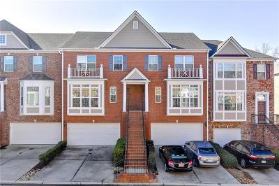 Johns Creek Condo/Townhouse For Sale: 6136 Joybrook Road