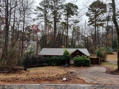 Cumming Single Family Home For Sale: 2830 Lanier Beach South Road