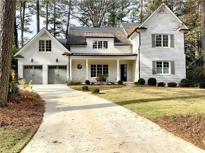 Alpharetta, Dunwoody, Johns Creek, Milton, Roswell, Sandy Springs Single Family Home For Sale: 4540 Jolyn Place
