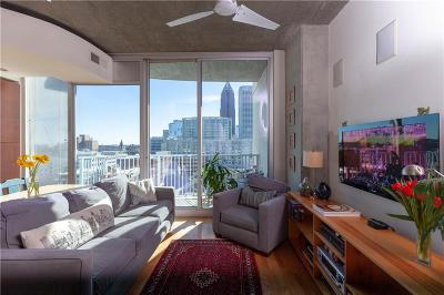 Condo/Townhouse For Sale: 860 Peachtree Street #1016