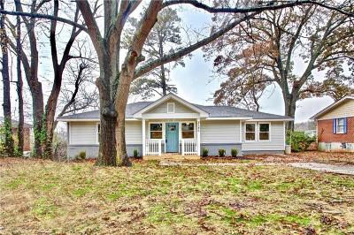 Atlanta Single Family Home For Sale: 2186 Brannen Road SE