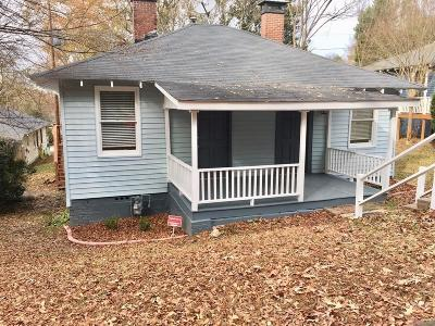 Fulton County Rental For Rent: 2881 Parrott Avenue NW