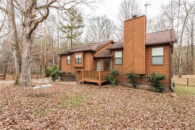 Acworth Single Family Home For Sale: 3446 Hill Lane