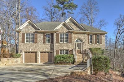 Forsyth County Single Family Home For Sale: 8545 Anchor On Lanier Court