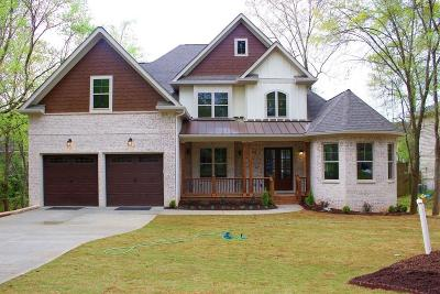 Roswell Single Family Home For Sale: 250 Windflower Trace