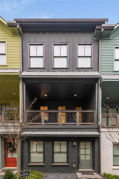 Atlanta GA Condo/Townhouse For Sale: $420,000