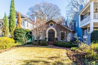 Atlanta GA Single Family Home For Sale: $1,325,000