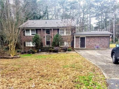 Single Family Home For Sale: 2638 Bent Hickory Drive SE