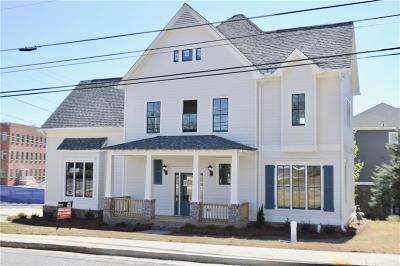 Peachtree Corners, Norcross Single Family Home For Sale: 631 W Peachtree Street