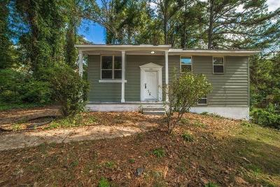 Decatur GA Single Family Home For Sale: $143,400