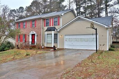 Lilburn Single Family Home For Sale: 4103 Deerbrook Way SW