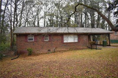 Atlanta Single Family Home For Sale: 2854 Fairlane Drive SE
