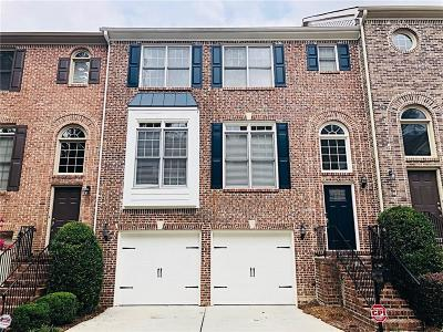 Sandy Springs Condo/Townhouse For Sale: 7244 Village Creek Trace