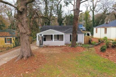 Atlanta Single Family Home For Sale: 1400 Graymont Drive SW