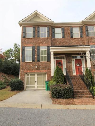 Alpharetta Condo/Townhouse For Sale: 4842 Lamoyne Lane