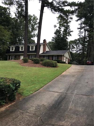 Lilburn Single Family Home For Sale: 456 Bruce Way SW