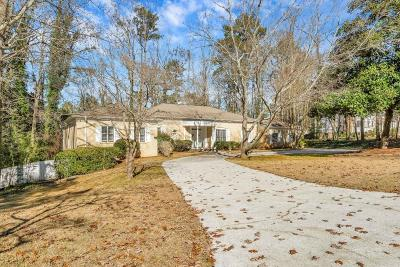Sandy Springs Single Family Home For Sale: 125 River Park Drive
