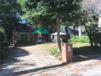 Decatur Single Family Home For Sale: 1520 Deerwood Drive