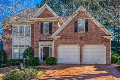 Dunwoody Single Family Home For Sale: 2291 Brookelake Drive
