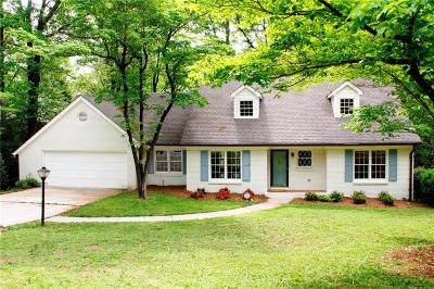 Sandy Springs Single Family Home For Sale: 795 Spalding Drive