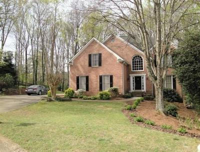 Acworth Single Family Home For Sale: 4614 Astible Circle NW