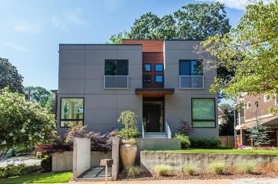 Atlanta Single Family Home For Sale: 1835 Indiana Avenue
