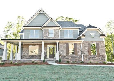 Ball Ground Single Family Home For Sale: 8720 Hightower Ridge