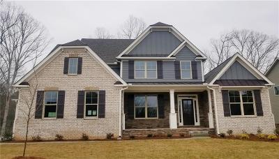 Ball Ground Single Family Home For Sale: 8730 Hightower Ridge