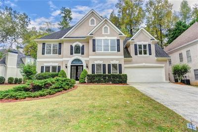 Alpharetta Single Family Home For Sale: 4865 Haydens Walk Drive