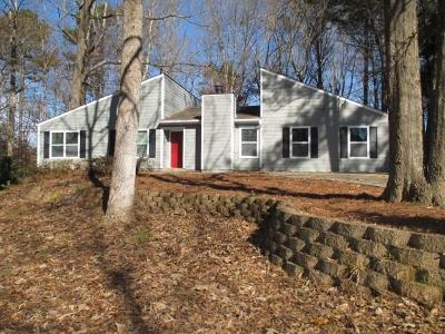 Acworth Single Family Home For Sale: 3642 Summit Drive NW