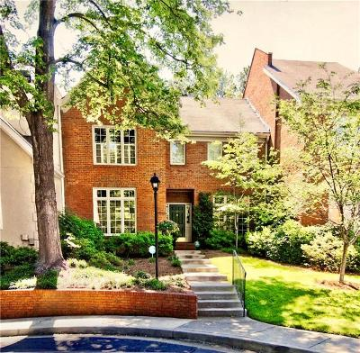 Atlanta Condo/Townhouse For Sale: 2 Paces West Terrace NW