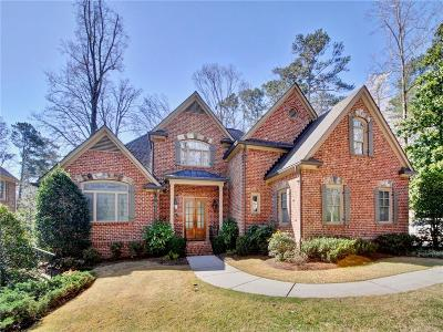 Sandy Springs Single Family Home For Sale: 585 Franklin Road