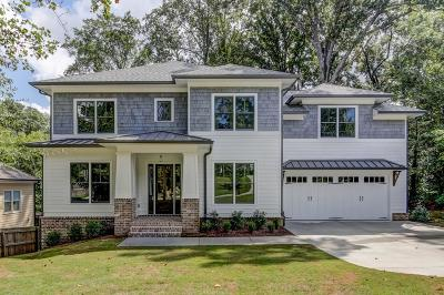 Brookhaven Single Family Home For Sale: 2315 Nesbitt Drive NE
