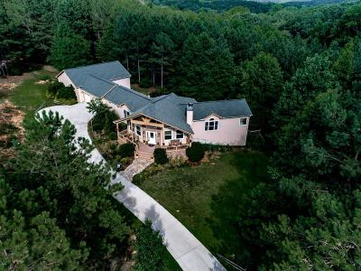 Waleska Single Family Home For Sale: 900 Garland Mountain Trail
