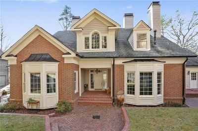 Atlanta Single Family Home For Sale: 835 Peachtree Batlle Avenue NW