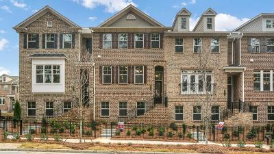 Dunwoody Condo/Townhouse For Sale: 4240 Townsend Lane #51