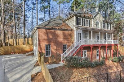 Kennesaw Single Family Home For Sale: 1275 Shiloh Trail East NW