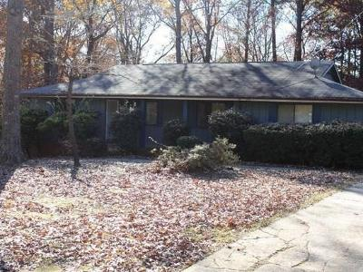 Lilburn Single Family Home For Sale: 4762 Valley Dale Drive SW