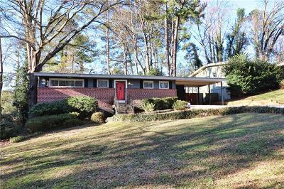 Brookhaven Single Family Home For Sale: 2135 Drew Valley Road NE